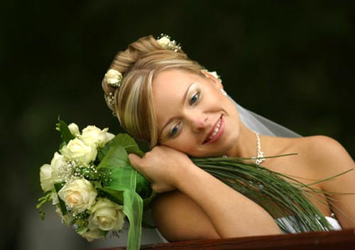 bridal bouquet pictures green