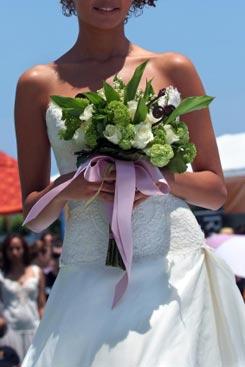 bridal bouquet pictures green 8